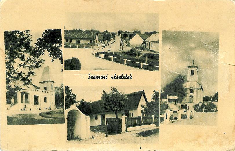 Szomori képeslap